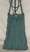 art textile mode autres sac ,a main femme adolescente tricot : sac trapèze canard