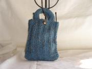 art textile mode autres sac ,a main enfant tricot laine : sac zoreilles cuivre