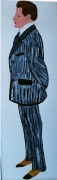 tableau personnages homme mode profil 1910 : le complet veston