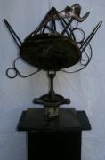 sculpture animaux animal criquet waltdisney jiminy : Le criquet