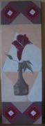 tableau fleurs fleur home deco : Vase et fleur