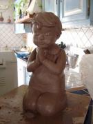 sculpture : LA PRIERE