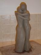 sculpture personnages : LA TENDRESSE