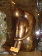 sculpture personnages : La pensée