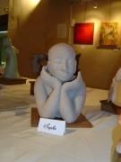 sculpture personnages : Le sage
