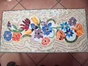 artisanat dart : fleurs sur table