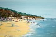 tableau marine mer plage vacances soleil : Plage et baignade                                      Plage et