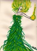 dessin personnages : Forêt