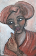 tableau personnages : femme xhosa 2