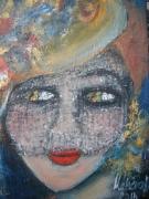 tableau personnages : femme à la voilette