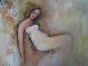 tableau : Femme au repos