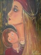 tableau : Mère et fille