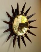 artisanat dart miroir : miroir soleil