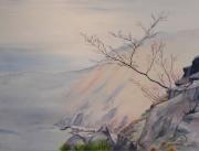 tableau paysages riviere montagne ardeche : Ardèche