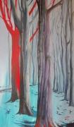 tableau paysages arbres foret bois : Assimilation ou non...