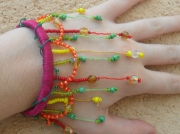 bijoux bijou colore fils long : Couleur d'été