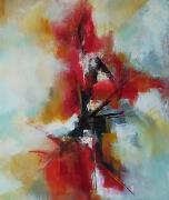 tableau abstrait : Éclat
