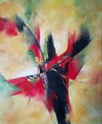 tableau abstrait : Eclat