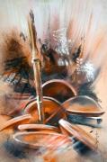 tableau abstrait : Tresor II