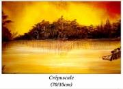 tableau paysages : Esprit du lac