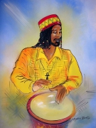 tableau personnages : Jembe man