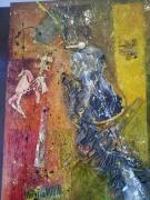 tableau abstrait peintures salamone galerie gard : Imagine