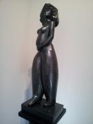 sculpture resine sculpture salamone gard : Lady in