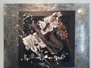 tableau abstrait salamone gard galerie peinture : Codbarre