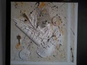 tableau asalamone peintures galerie gard : Violon Notre Dame