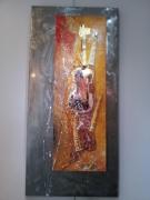 tableau abstrait salamone gard peinture galerie : Voluptée