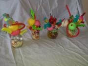 tableau fruits verrines bonbons compositions creations bonbons : mini rigolo