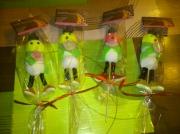 tableau personnages brochettes bonhomme creation bonbons : bonhomme