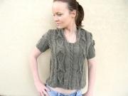 art textile mode top femme original idee cadeaux jetricote : pull le renouveau