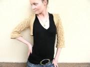 art textile mode autres gilet femme mode femme fait main createur de mode : gilet aisance