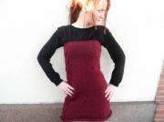 art textile mode robe femme tunique femme creation originale createur de mode : Robe céleste tricoté main