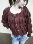 art textile mode gilet mode femme idee cadeaux jetricote : gilet froncé