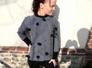 art textile mode top femme top coton top printanier original : Top printanier