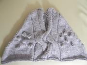 art textile mode cape cape bebe poncho enfant creation fait main : cape 2ans guimauve