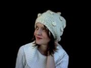 artisanat dart autres beret casquette accessoire bonnet : béret noppes