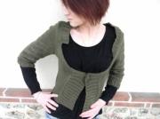 art textile mode gilet femme gilet fait main createur de mode creation original : Gilet structuré