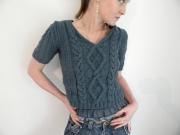 art textile mode debardeur femme fait main unique createur de mode : debardeur angele unique