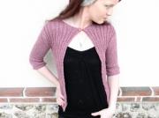 art textile mode gilet femme mode fait main createur de mode creation originale : Gilet passion taille 34