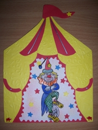 Carte clown