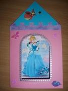 autres personnages cendrillon princesse chateau carte : Carte princesse cendrillon