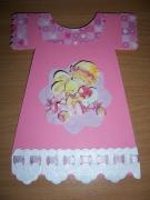 autres autres filette robe lapin anniversaire : Carte robe filette