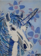 tableau animaux licorne : licorne1