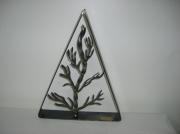 sculpture nature morte deco arbre sculpture acier : Frêne en acier brossé