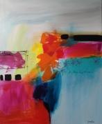 tableau abstrait : Esseulé