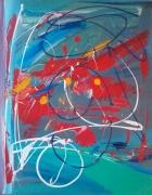 tableau abstrait abstrait france attentat drapeau : attentat