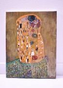 tableau : Klimt, le baiser